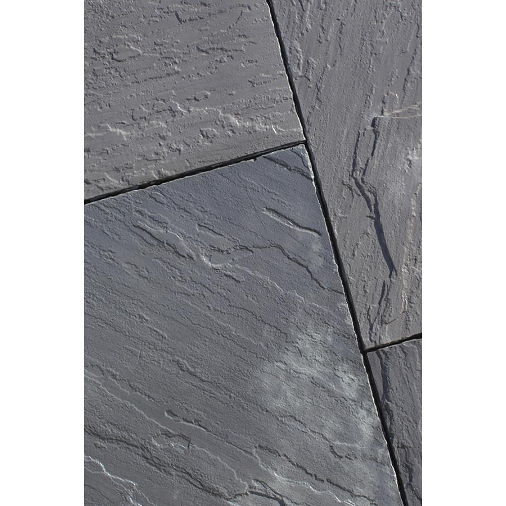 Slate 12 in. x 12 in. x 1.5 in. Bluestone Concrete Paver (48-Pieces/48 sq. ft./Pallet)