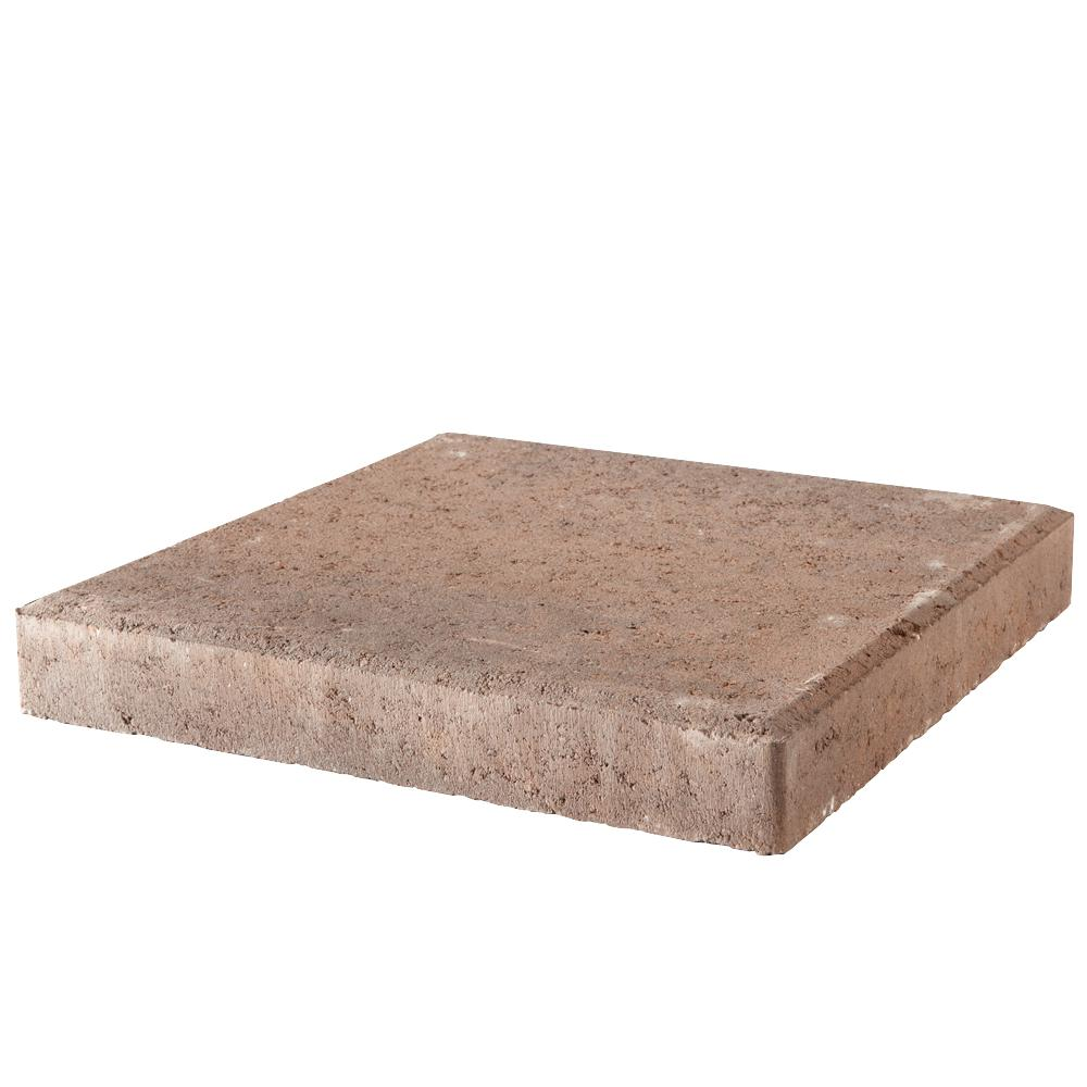 12 in. x 12 in. x 1.57 in. Rustic Blend Concrete Step Stone (168-Pieces/168 sq. ft./Pallet)